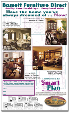 Arachnid Press Ad Designs